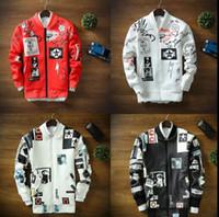 Wholesale European and America Streetwear Baseball Jacket Men Winter Hip Hop Bomber Jackets chaquetas hombre
