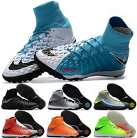 hypervenom men achat en gros de-2017 Soccer Football Shoes Hommes Hypervenom Phantom DF TF Waterproof Soccer Cleats Boots Indoor Sports Shoes Livraison gratuite Taille 6.5-11