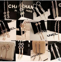 Cheap The goddess of van fashion long tassel earrings Costly temperament eardrop of party dresses many styles mix delivery