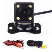 Wholesale Universal CCD Car Auto Back Up Reverse Backup LED Night Vision Rear View Camera Waterproof HD Degree Parking Assistance