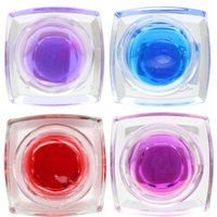 Wholesale Fashion Phototherapy glue Nail Art UV Gel Extension Solid Color Nail Gel Set Glitter for finger set