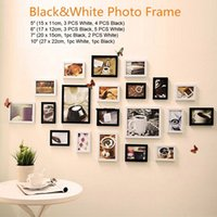 album collage - 20 Photo Picture Frame Set Collage Wall Decor Family Home Album Hanging