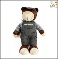 baby doll sweaters - 2016 New Cute Plush Toy Teddy Bear Wearing a Sweater quot Plush Dolls for Baby Best Christmas Gift