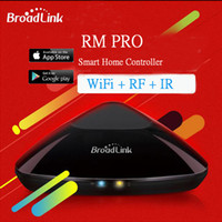 Wholesale Newest Broadlink Rm2 Rm Pro Universal Intelligent Switch Smart Home Controller WiFi IR RF Remote Control Switch Via IOS Android