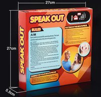 Wholesale 2016 Speak Out Game KTV party game cards for party Christmas gift newest best selling
