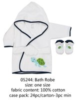 Wholesale US Brand Luvable Friends Baby Infant Toddler Kids Child After Bathing Bathrobe Warm Blanket Clothes Towel Robe Washable Easy Clean New
