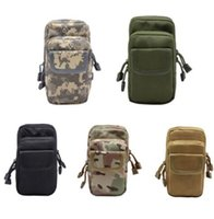 Outdoor Military EDC Nylon Tactical Molle Waist Pack Outils Utilitaire Divers Sacoche Équipement Packs Sacs