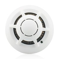 Wholesale Muliti function Wifi IP Camera Smoke Detector Hidden Camera Security Camcorder Mini DVR for IOS iPhone iPad Remote View