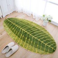 Wholesale New Leaf Carpet for Hallway Door Anti slip Kitchen Balcony Mats