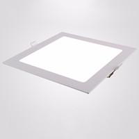500 bathroom ceiling design - Square LED Panel Light W Ceiling Recessed Slim Ultra Thin Design Downlight for Kitchen Bathroom Lighting