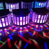 automatic light control - LED Effects Led Butterfly Light Channel RGBW Dmx512 Stage Lighting Voice activated Automatic Control LED Laser Projector DJ KTV Disco