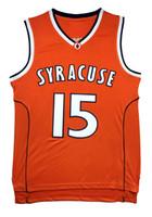 Wholesale Retro Men s Carmelo Anthony Jersey Adult University Throwback Anthony Basketball Jersey embroidery Logos