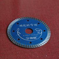 Wholesale mm super thin kerf slim turbo segmented diamond saw blade for dry cutting hard ceramics tile etc