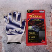 Wholesale Ove Glove Bakeware Glove For Cooking Heat Proof Resistant Kitchen Gadgets Protective Cooking Tools Hot Sale