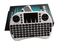 Wholesale mini i8 fly air mouse mini wireless handheld keyboard GHz touchpad remote control form8SM XQ MX III TVB ox mini PC