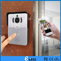 Wholesale EBELL ATZ DBV01P MHZ Smart Door Bell with P HD Remote control Home Security Motion Detection Smart IP WiFi Video Doorbell