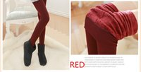 Wholesale Leggings women winter three piece a Slim Pantyhose Super Elastic Casual Warm Winter Legging Knitted Thick seven colors