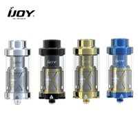 Wholesale Original IJOY Limitless XL Tank RTA ml Rebuildable Tank Atomizer ohm Light up Chip Coil with Rebuildable and Swappable Deck System