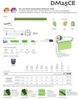 Wholesale DM25CE battery motor DOOYA tubular motor for Dia mm tube