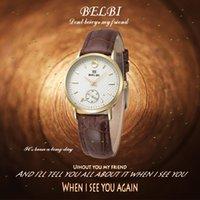 Relojes de las mujeres de la manera El reloj suizo de la marca de fábrica de la marca de fábrica del reloj de la marca de fábrica BELBI AAA de la calidad china 3 colorea el mejor regalo en Chirstmas