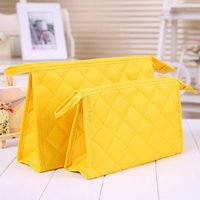 argyle bag - Multicolor High Quality Lady MakeUp Pouch Argyle Cosmetic Make Up Bag Clutch Hanging Toiletries Travel Organizer Bag For Women Ladies