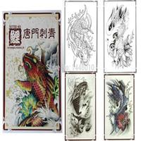 Wholesale Fashion Design Tattoo Flash Book New Pro Tattoo Koi Tattoo Flash Book Magazine A4 Size