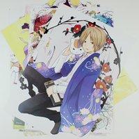 Wholesale Natsume yuujinchou Cat cartoon teacher embossed wall wallpaper mural posters stickers