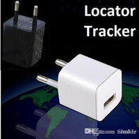 Wholesale Super Charging head monitor locator GSM Quad band Voice dial back Environmental monitoring Mini USB charger for iphone sumsung mobiles