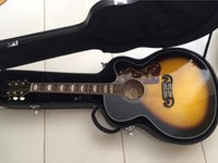 acoustic body - New Factory Chibson J200 acoustic guitar maple body J200 electric acoustic guitar single cutaway Jumbo Acoustic Guitar