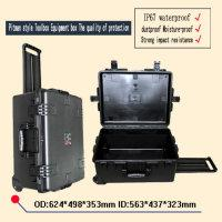 Wholesale waterproof safety equipment case trolley Tool case GL camera box Plastic sealed case tool box with pre cut foam lining mm