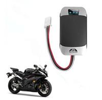 achat en gros de gps tracker moto livraison gratuite-Original Coban Car GPS Tracker GSM / GPRS Localisateur de moto de véhicule GPS303B Google Maps Tracking Device System Livraison gratuite