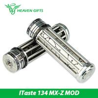 achat en gros de batteries zodiaque-Innokin iTaste 134 MX-Z Box Mod Système de tir Zodiac unique Compatible avec les batteries 18650 100% Original