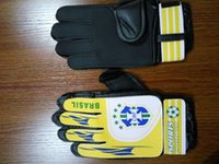 Camping & Hiking argentina leather - 2017 Adult Sports gloves Men Soccer Football club training Germany Argentina Brazil Netherlands goalkeeper gloves game Leather Goalie Gloves