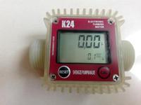 Wholesale K24 L MIN turbo electronic flowmeter Diesel fuel Methanol Urea Precision adjustable flow meter