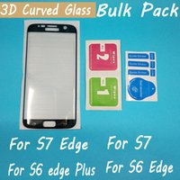 Wholesale factory sell for samsung galaxy S7 S7 edge S6 edge S6 edge Plus noted edge D curved full cover tempered glass screen protector