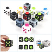 big plastic toys - 11 Colors Magic Fidget Cube Anti anxiety Decompression Toy Adults Stress Relief Kids Toy Gift In Stock Fast DHL Shipping
