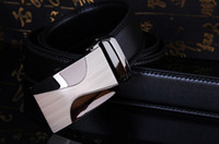 authentic designer belts - Fashion designer leather strap male smooth buckle belts for men authentic girdle trend men s belts ceinture cinto masculino