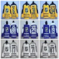 Ice Hockey Men Full NEW Men's 2017 NHL All-Star Game Jersey Atlantic Division 6 Shea Weber 31 Carey Price 34 Auston Matthews Yellow Ice Hockey Jerseys