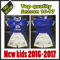Wholesale 2016 Everton kids jersey Football kits maillot de foot shirts