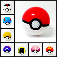 action figures lot - 6Pcs Ball Figures ABS Anime Action Figures PokeBall Toys Super Master Ball Toys Pokeball Juguetes CM TOY149