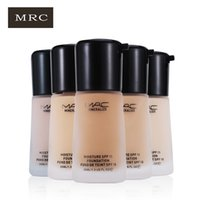 Wholesale MRC Base Liquid Foundation Makeup Mineralize Cream Color Moisturizing Oil Control Concealer Sunblock Cream SPF15 Maquiagem