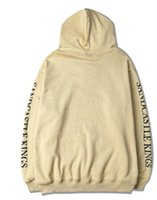 apricot hairs - Qiu dong BIEBER BIEBER body plain FOG hooded fleece purpose tour of camel s hair apricot men and stu boy women