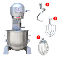 Wholesale Heavy Duty L Commercial Stand Food Mixer Machine Egg Cream Flour Mixing Blender Processor with egg whip cream blending machine dough mixer