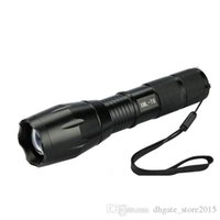 Wholesale Ultrafire XML T6 Lumens High Power LED Torches Zoomable LED Flashlights Torch Light hot A001