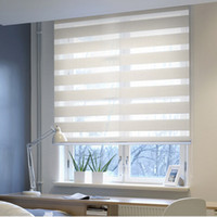 Wholesale sunshading motorized blackout zebra blinds