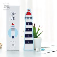 Wholesale pack The Lighthouse Bookmark Paper Cartoon Animals Bookmark Promotional Gift Stationery Film Bookmark