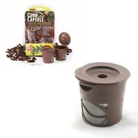 coffee filter baskets metal eco friendly clever coffee capsule reuseable single coffee filter keurig k cup - Cheap Keurig