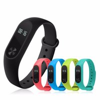 Wholesale Original M2S OLED display Heart Rate Monitor Smartband Smart Band Health Fitness Tracker for Android iOS pk Mi Band S2