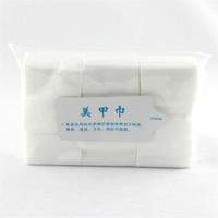 Wholesale 900pcs Pack Pro Lint Free Nail Wipes Cotton Pad Nail Polish Soft Gel Remover Pads Nails Acrylic Tips Nail Tools Manicure SKU F0072