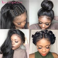 Wholesale New Arrival Silk Top Long Straight Glueless Full Lace Human Hair Wigs For Black Women Lace Front Human Wig Brazilian Virgin Hair
